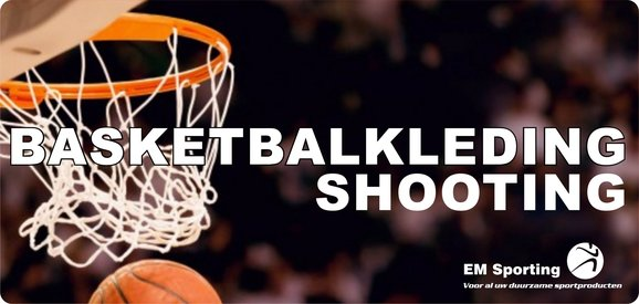 Macron basketbalkleding shooting