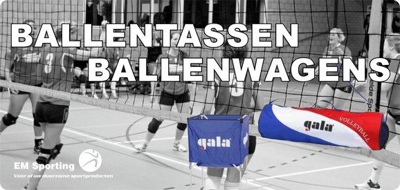 Ballentassen ballenwagens volleybal