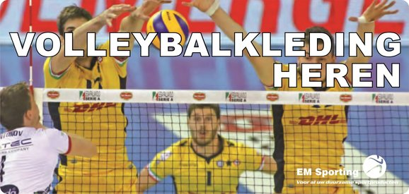 Macron volleybalkleding heren