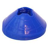 Cawila hoedjes M - set 10 stuks blauw