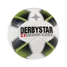 Derbystar mini voetbal - wit/geel/zwart