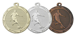 Medaille EM3004 Voetballer