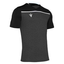 Fit Factory Borgerwold - Macron Deneb shirt - zwart