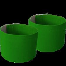 Scheenbeschermer houders - groen