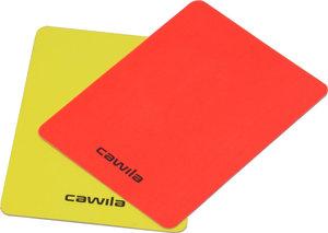 Cawila scheidsrechters kaartenset