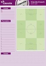 Cawila A4 notitieblok - voetbal tactiek