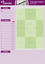 Cawila A4 notitieblok - voetbal wedstrijd