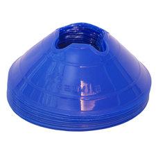 Cawila hoedjes M - set 10 stuks - kleur blauw