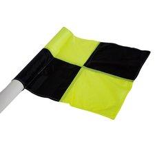 Cawila Hoekvlag | Cornervlag - geel zwart