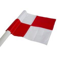 Cawila Hoekvlag | Cornervlag - rood wit