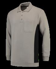 Polosweater Tricorp TS2000 grijs/zwart