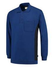 Polosweater Tricorp TS2000 blauw/navy