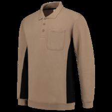 Polosweater Tricorp TS2000 khaki/zwart