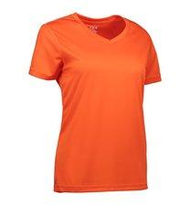ID Dames sportshirt oranje