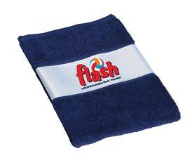 Flash Veendam - handdoek met logo