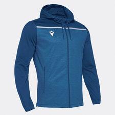 Macron Aether hoodie - blauw