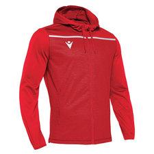 Macron Aether hoodie - rood