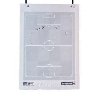 Flipover voetbal met zones - A0