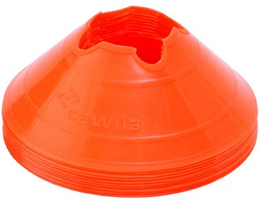 Cawila hoedjes M - set 10 stuks oranje
