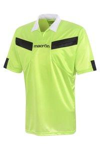 Macron Scheidsrechter Shirt geel groen