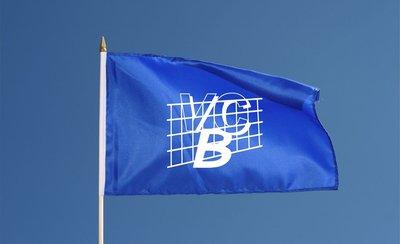 Vlag met eigen logo