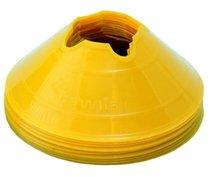 Cawila hoedjes M - set 10 stuks geel