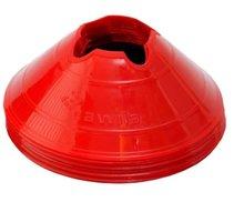 Cawila hoedjes M - set 10 stuks rood