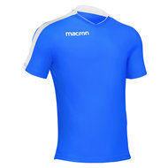 Macron Earth shirt blauw wit