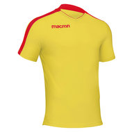 Macron Earth shirt geel rood