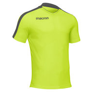 Macron Earth shirt neon geel