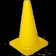 Cawila pion | kegel 40 cm - geel