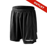 Macron Alcor short - ner/bia