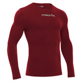 Macron Performance long sleeves bordeaux rood