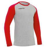 Macron Wave Shirt rood