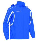 Macron Kobe shower jacket blauw