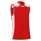 Macron Chromium shirt rood wit