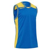 Macron Chromium shirt blauw geel