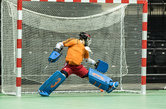 Indoorhockey doelnet
