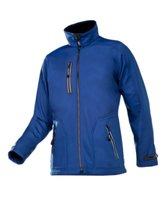 Sioen softshell jas Pulco blauw