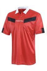 Macron Scheidsrechter Shirt rood