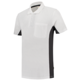 Poloshirt Tricorp TP2000 wit grijs 1