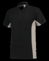 Poloshirt Tricorp TP2000 zwart grijs 4