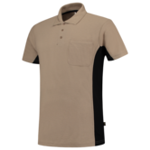 Poloshirt Tricorp TP2000 khaki zwart 5