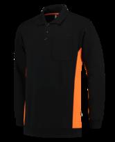 Polosweater Tricorp TS2000 zwart oranje 4
