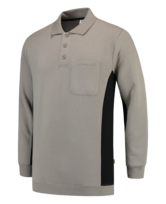 Polosweater Tricorp TS2000 grijs zwart 5
