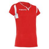 Macron Fluorine shirt rood